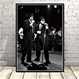 yhyxll Poster Blues Brothers Vintage Film TV Serie