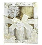 BRUBAKER Cosmetics - Coffret de bain & douche - Vanille/Rose/Menthe - 5 Pièces - Idée cadeau
