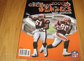 2001 Cincinnati Bengals Official Yearbook Magazine
