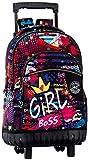 Montichelvo Montichelvo Trolley CG Girl Bolso de Viaje, 46 cm, Multicolor (Multicolour)