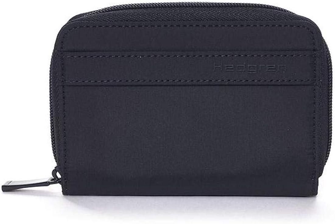 Hedgren Krona Compact Zipper Purse and Wallet, RFID Blocking Pocket