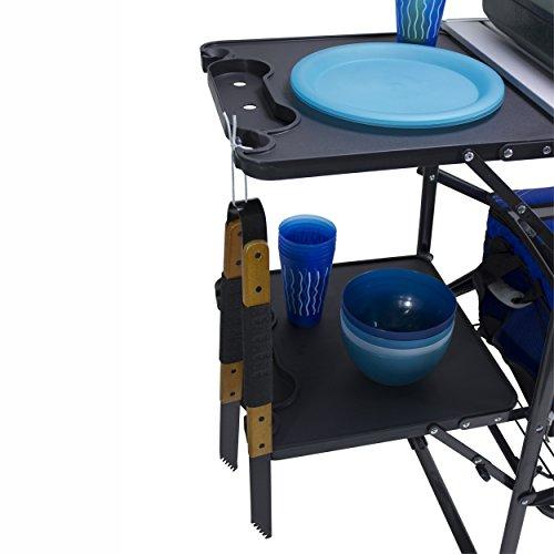 Product Image 1: GCI Outdoor Slim-Fold Camp Kitchen Portable Folding Cook Station