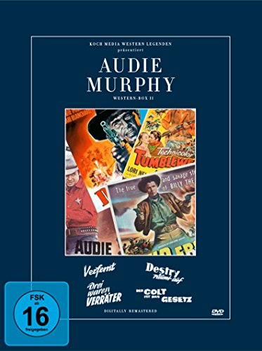 Audie Murphy Collection 2 [4 DVDs]