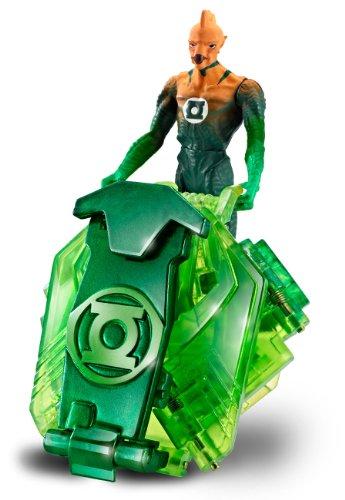 Green Lantern T7822 - Figura de acción articulada con Escudo transformable