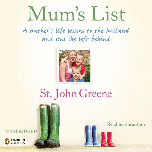 Mum's List audiobook cover art