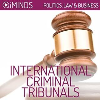 International Criminal Tribunals audiobook cover art