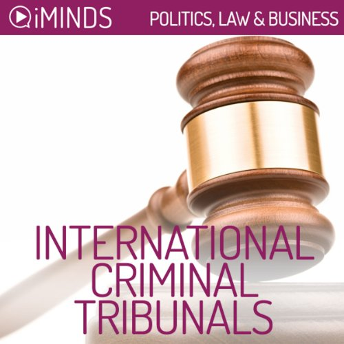 International Criminal Tribunals audiobook cover art