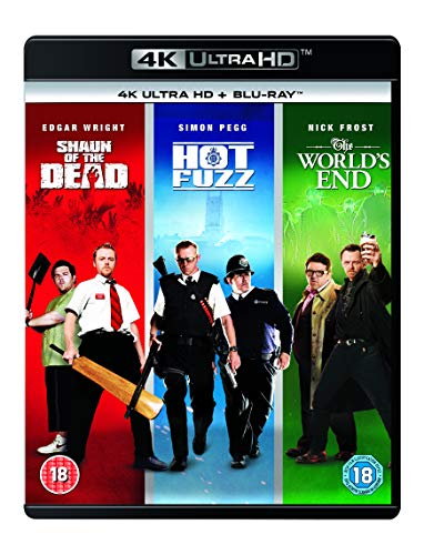 Shaun of the Dead / Hot Fuzz / The World's End: The 4K Collection [Blu-Ray 4K]+[Blu-Ray] (No English version)