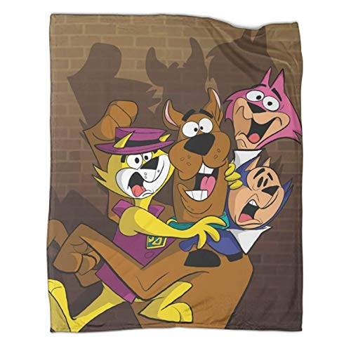 Xaviera Doherty Scooby Doo And The Three Little Onespopular Decken, 80 x 100 cm, weiche und bequeme Bettdecke, Kinderbettwäsche