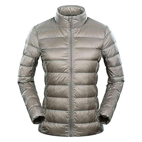 Dames donsjas super licht donsjack Dames veer lichtgewicht windjack dunne jas