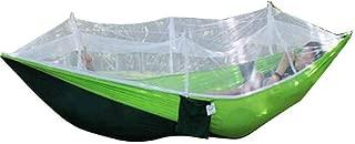 ZXL Hammock Outdoor Picnic Garden Hammock Mosquito Net Portable Outdoor Garden Travel Swing Parachute Hang Bed Furniture Hammock