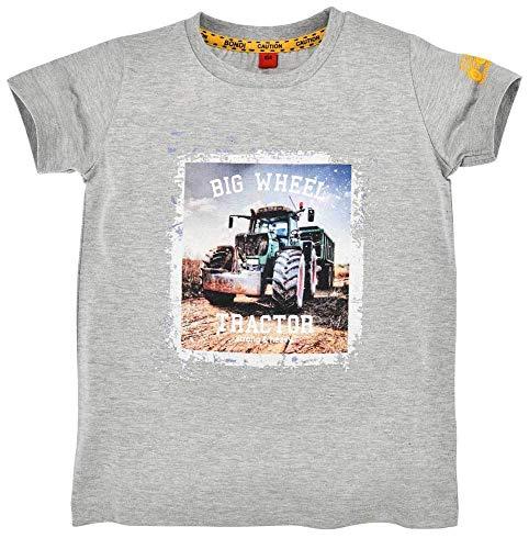 BONDI Camiseta Big Wheel para chicos 33124, color gris, manga corta para niños gris 104 cm