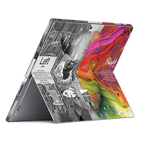 MasiBloom - Adesivo adesivo per computer portatile Microsoft Surface Pro 7 (2019 rilasciato) da 12,2 pollici antigraffio in vinile (per Surface Pro 7, Brain-Matematica)