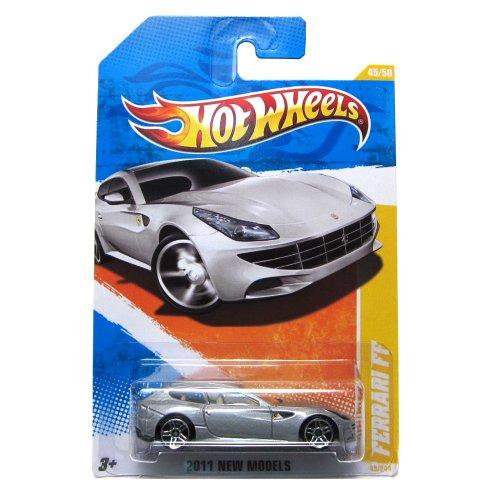 2011 Hot Wheels New Models Ferrari FF #45/244 SILVER