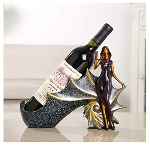 Estante Para Botellas Vino Resina,Adorno Artesanal Para Estantes Vino Pretty Woman,Escultura Personajes,Estante Para Botellas Vino,Vitrina Para Vinos,Sala Estar,Cocina,Ilustraciones,Decoración,Regalos