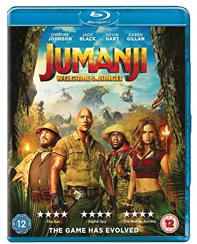 Jumanji: Welcome to the Jungle [Blu-ray] [UK Import]