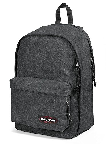 EASTPAK Back to Work Black Denim - Mochila, color negro