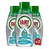 Fairy Platinum Gel Brezza Marina, Detersivo Per Lavastoviglie, Maxi Formato da 96 Lavaggi
