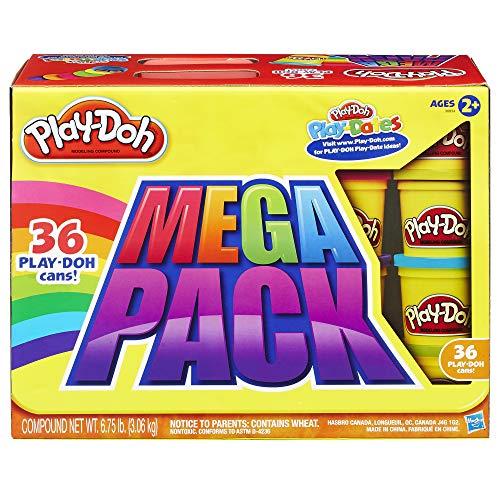 Play-Doh 36 Mega Pack, Knete für kreatives Spielen, für Kinder ab 2 Jahren