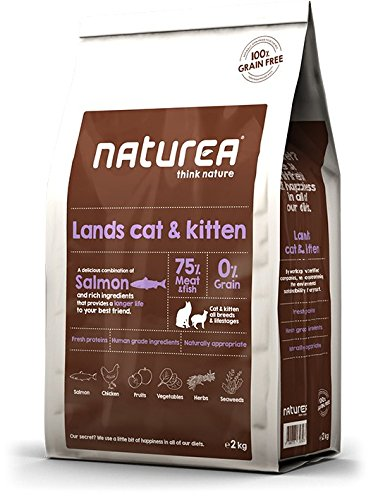 Naturea Alimento Seco para Gatos Lands Cat & Kitten - 2000 gr