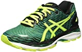 Asics Gel Nimbus 18 - Zapatillas de Running, Unisex, Verde (Pine/Flash Yellow/Black), 41.5
