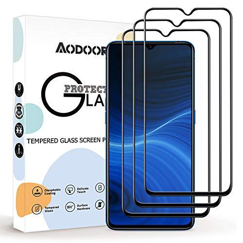 Aodoor Protector Pantalla Realme X2 Pro, [3 Pack] [9H Dureza] Cristal Templado, [Resistente a Arañazos] Vidrio Templado Screen Protector para Realme X2 Pro
