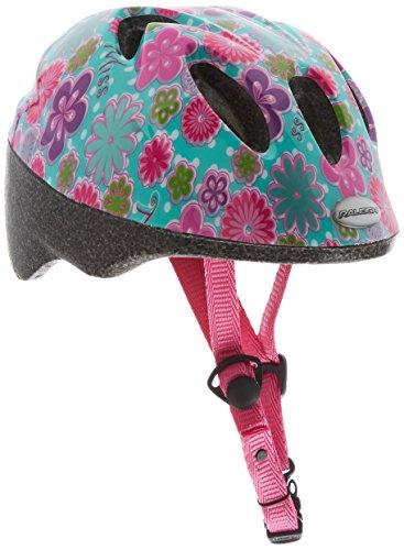 Raleigh Girls' Rascal Cycle Helmet, Green/Multi, Small