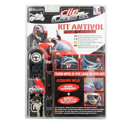 CLIP CAS'K 79201Kit antirrobo para casco Moto