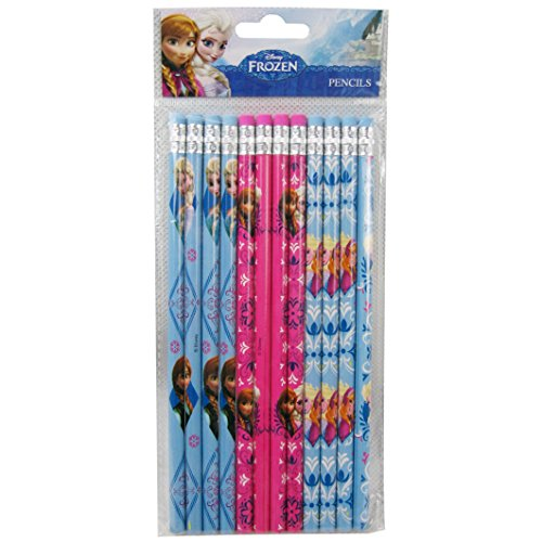 Disney Frozen Pencils 12 and 1 Eraser