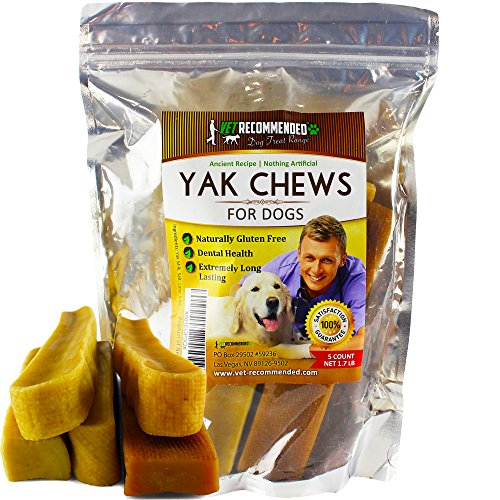 Vet Recommended Yak Chew for Large Dogs Made from...