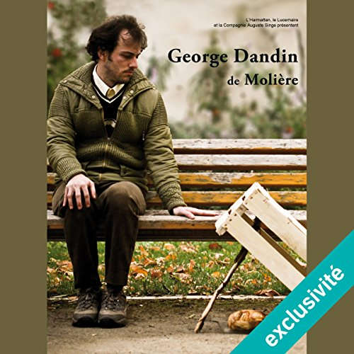 George Dandin audiobook cover art