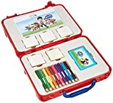 Multiprint Valija Travel Set Paw Patrol Boy, Made in Italy, Libro para Colorear, con Rompecabezas y Lápices, Set Sellos Niños Persolanizados, en Madera y Caucho Natural, Tinta Lavable no Tóxica, Idea de Regalo,, 42903