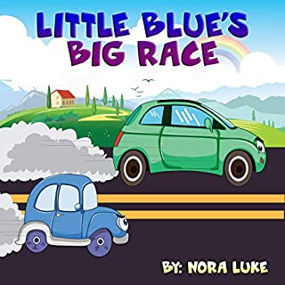 Little Blue's Big Race  cover art