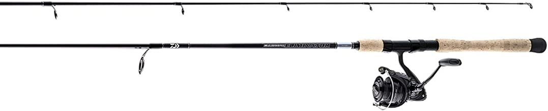 Best daiwa eliminator spinning rod Reviews