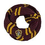 Cinereplicas - Harry Potter - Bufanda Infinity - Ultra Suave - Licencia Oficial - Casa Gryffindor - 190 cm - Rojo y Negro