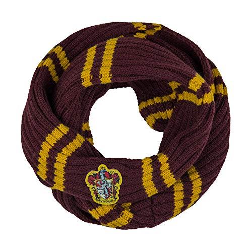 Cinereplicas - Harry Potter - Infinity Schal - Superweich - Licence -Offiziel lizensiert - Gryffindor - 190 cm -Gelb und Rot