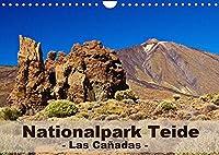 Nationalpark Teide - Las Cañadas (Wandkalender 2022 DIN A4 quer): Bizarre Naturlandschaft auf Teneriffa (Monatskalender, 14 Seiten )