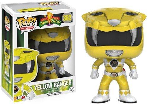 Funko 10310 POP Vinylfigur: Power Rangers: Gelber Ranger