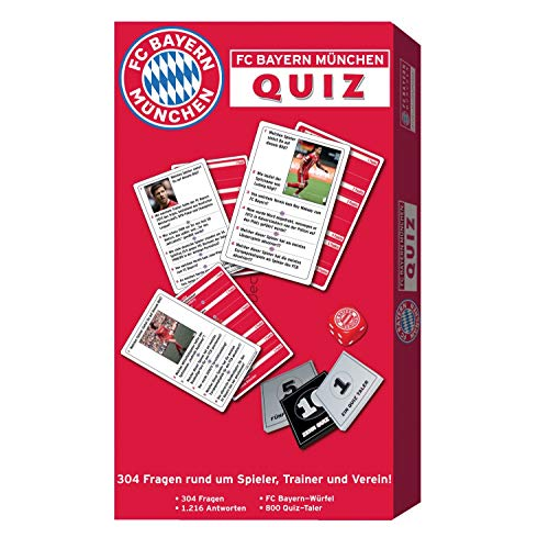 FC Bayern München Quiz, vraag & antwoord, spel FCB - plus bladwijzer I Love München