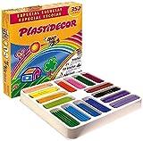 BIC Kids Plastidecor Pack de Ceras lavables óptimo para niños a partir de 30 meses,...