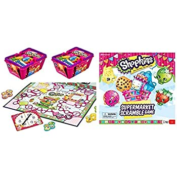 Shopkins Supermarket Scramble Game and 2 Bask | Shopkin.Toys - Image 1