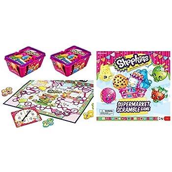 Shopkins Supermarket Scramble Game and 2 Bask   Shopkin.Toys - Image 1