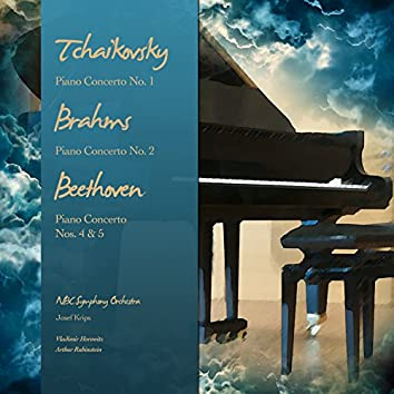 Tchaikovsky: Piano Concerto No. 1 - Brahms: Piano Concerto No. 2 - Beethoven: Piano Concerto Nos. 4 & 5 (Digitally Remastered)