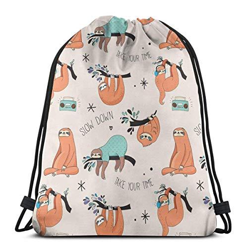 Bolsa con cordón para mujer, diseño floral, impermeable, para viajes, natación, senderismo, yoga