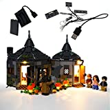 GEAMENT Light Kit for Harry Potter Hagrid's Hut Buckbeak's Rescue - Compatible with Lego 75947 Toy Hut Building Set (Lego Set Not Included)