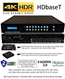 8x16 8x8 HDR 18GBPS HDbaseT 4K Matrix SWITCHER 16x16 with 8 Receivers HDMI 2.0a 2.0 CAT6 CAT5e HDMI HDCP2.2 Routing SPDIF Audio CONTROL4 Savant Home Automation
