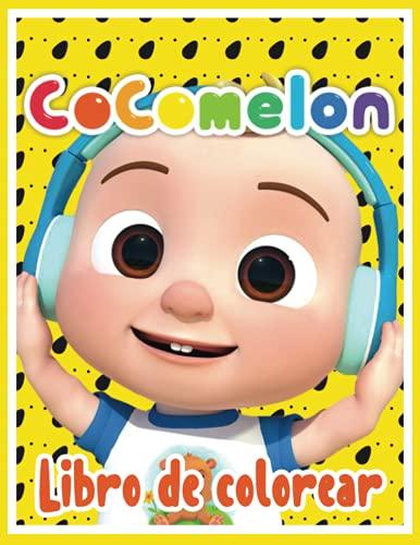 Cocomelon Libro de Colorear: Cocomelon Coloring Book con + 90 ilustraciones para niños, este libro para colorear viene con alta calidad, Libro de ... cumpleaños y libro de colorear de Halloween