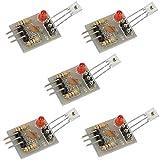 ARCELI Commutateur de Relais de Module de capteur récepteur Laser 5V pour Arduino