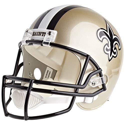 Riddell New Orleans Saints Officially Licensed VSR4 Full Size Replica Football Helmet