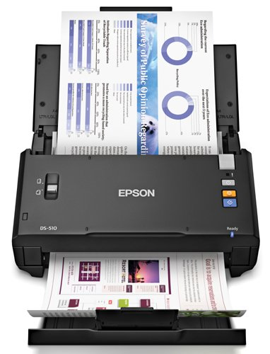 Epson WorkForce DS-510 Color Document Scanner (Certified Refurbished)